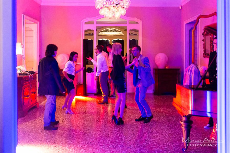 wedding party Villa Frua Lake Maggiore