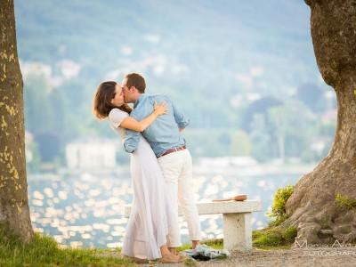 wedding proposal on lake maggiore