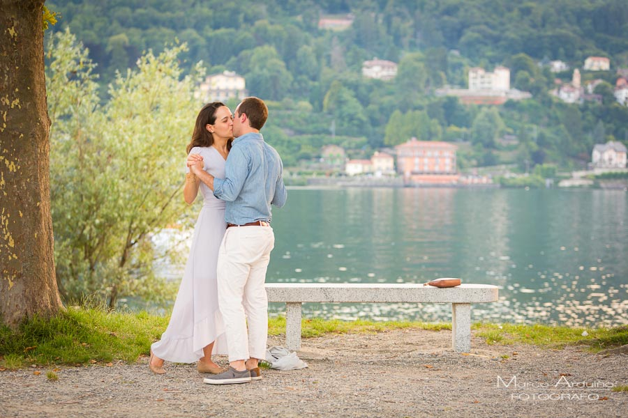 marriage proposal lake maggiore