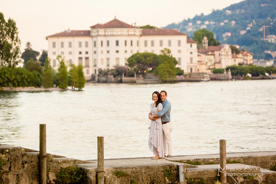 engagement fisherman's island, lake maggiore
