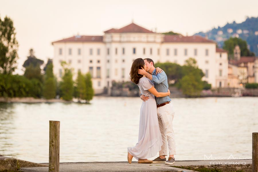 engagement session lake maggiore