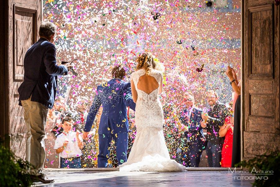 Wedding ceremony at San Carlo Borromeo Arona