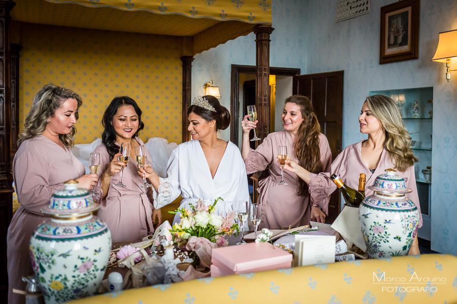 wedding at castello dal pozzo